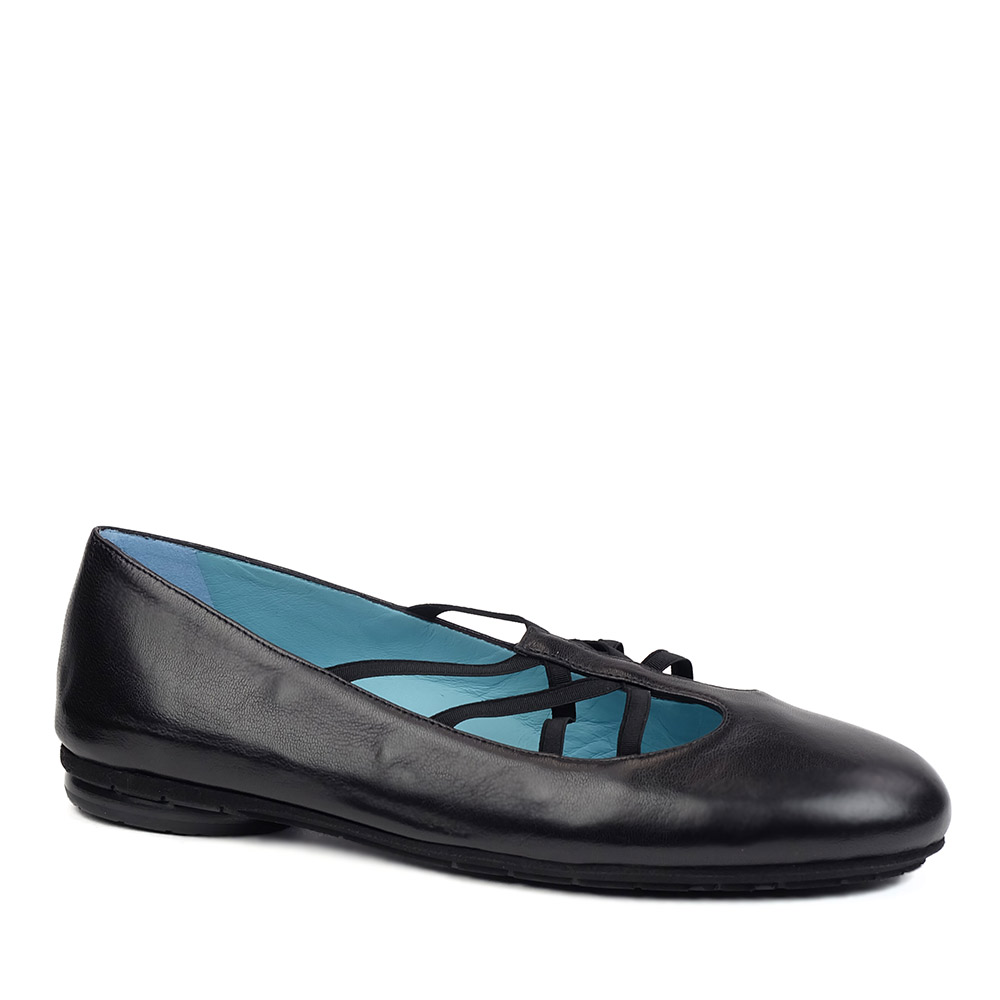 Thierry Rabotin 2246 Black Nappa Narrow